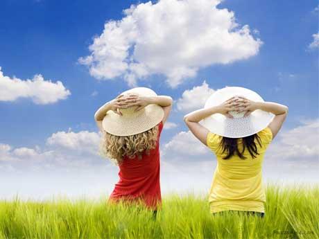 دو دختر