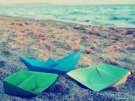 ساحل و قایق