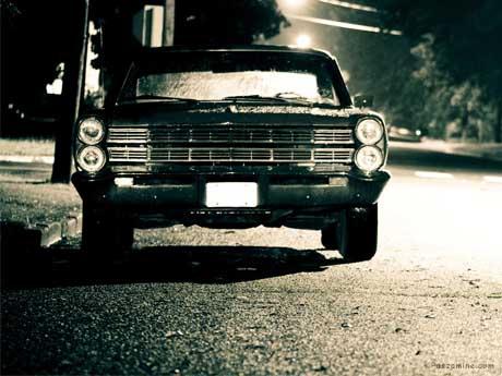 ماشین قدیمی Ford Galaxy 1967