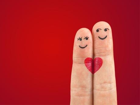 انگشتان عاشق