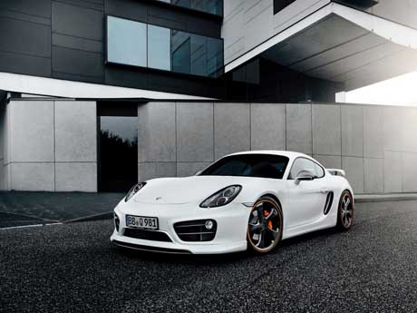 پورشه Cayman Techart