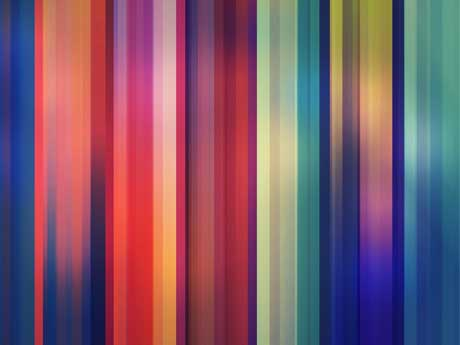 خطوط انتزاعی رنگارنگ