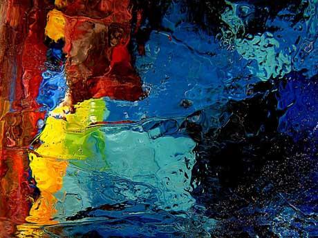 نقاشی آبرنگ, ترکیب رنگ ها