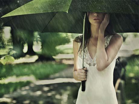 انتظار در زیر باران