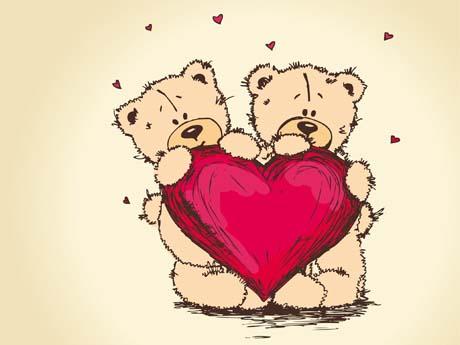 خرس های عاشقانه