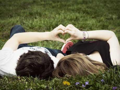 احساس عاشقانه