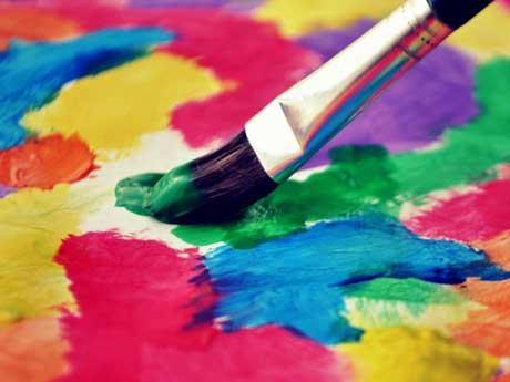 رنگ و قلمو و هنر