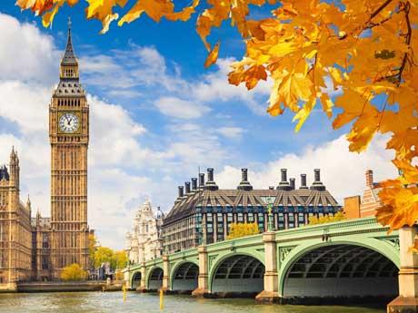 انگلستان, لندن, برج ساعت بیگ بن