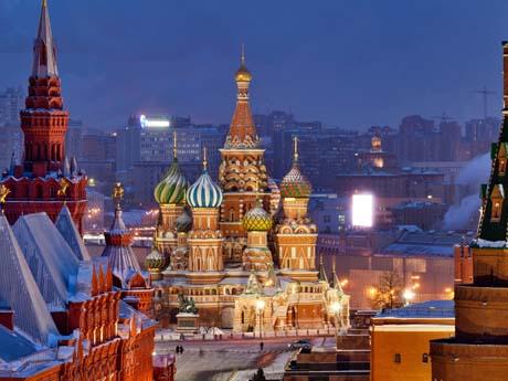 ارگ کرملین مسکو, روسیه