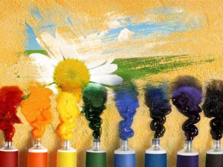 رنگ و هنر و نقاش