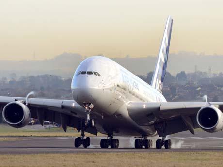 بزرگترین هواپیمای مسافربری جهان – Airbus A380