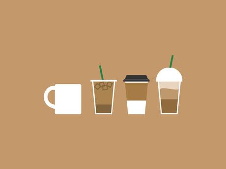 لحظاتی خوش با انواع قهوه :)