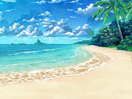 نقاشی زیبا از دریا