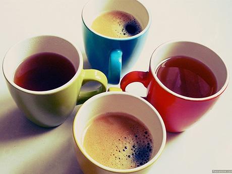 ماگ چای و قهوه