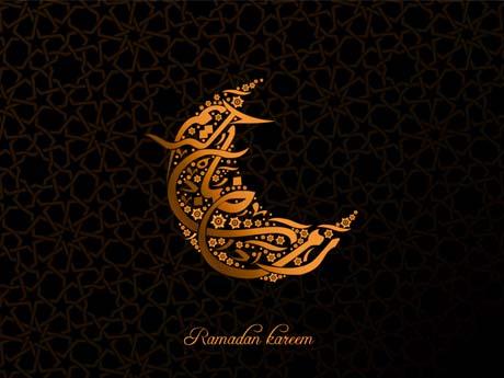 پس زمینه رمضان
