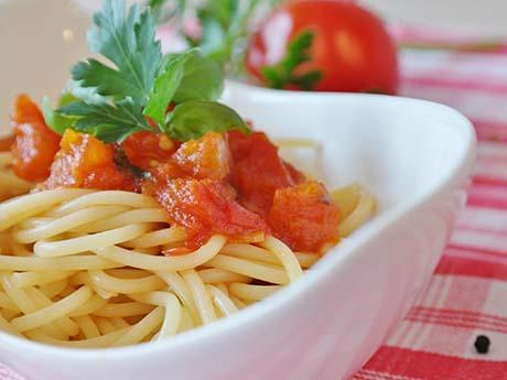 والپیپر غذا، اسپاگتی