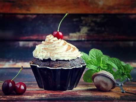 والپیپر شیرینی خامه ای
