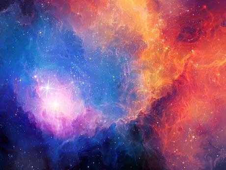 والپیپر ستاره ها، فضای سحابی