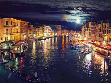 والپیپر شهر، کانال ونیز، ایتالیا
