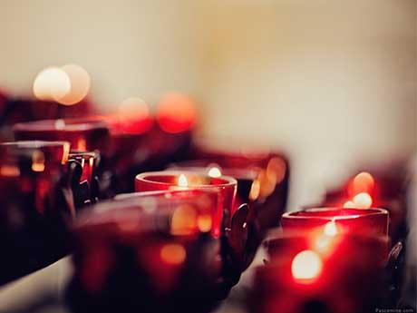 والپیپر شمع