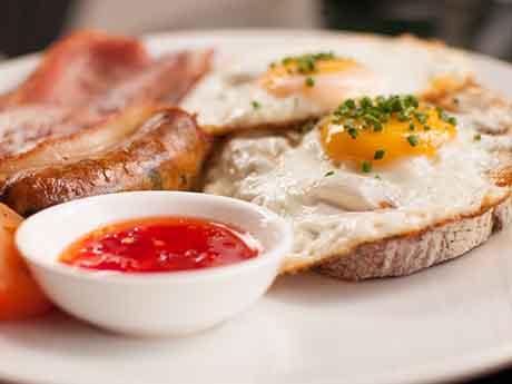 والپیپر صبحانه