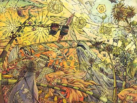 والپیپر نقاشی سوررئالیسم | انتزاعی