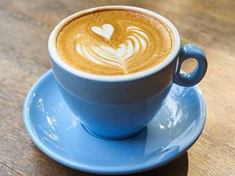 والپیپر یک فنجان قهوه