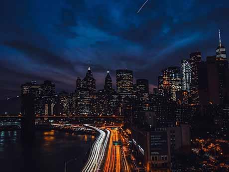والپیپر نمای شهر در شب
