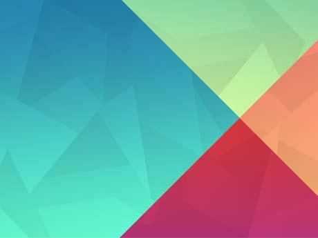 چند ضلعی های رنگی