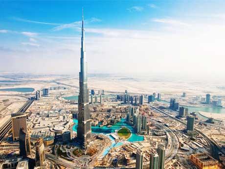 برج خلیفه, دبی