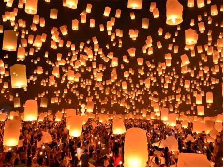 جشنواره چراغ بادی