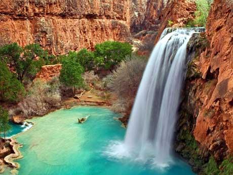 آبشار هاواسو, آریزونا