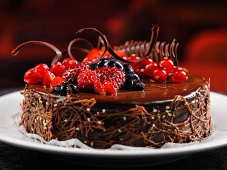 کیک شاتوت شکلاتی