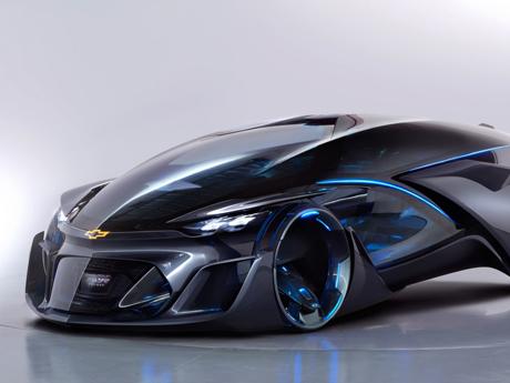 خودرو الکترونیکی Chevrolet Autonomous Concept 2015