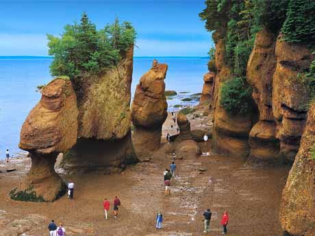 جزر و مد خلیج فاندی – کانادا