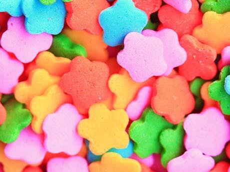 خوراکی های خوشمزه و رنگارنگ