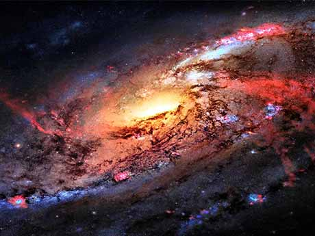 والپیپر کهکشان