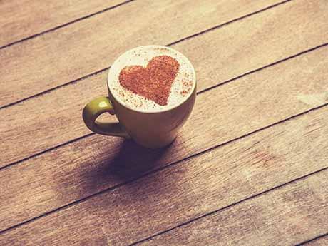 والپیپر فنجان قهوه
