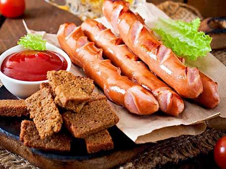 والپیپر خوراک سوسیس