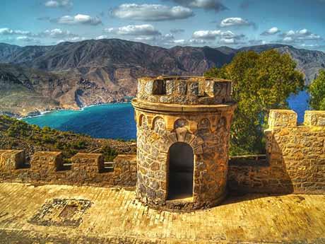 والپیپر قلعه (دژ) کارتاخنا در اسپانیا